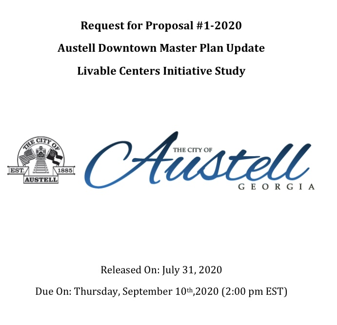 Austell LCI Downtown Masterplan RFP