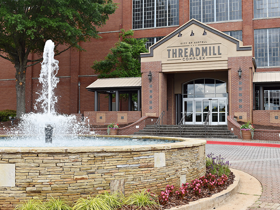 City of Austell Threadmill Complex front entrance